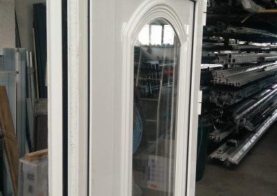 Porta rutura termica com painel